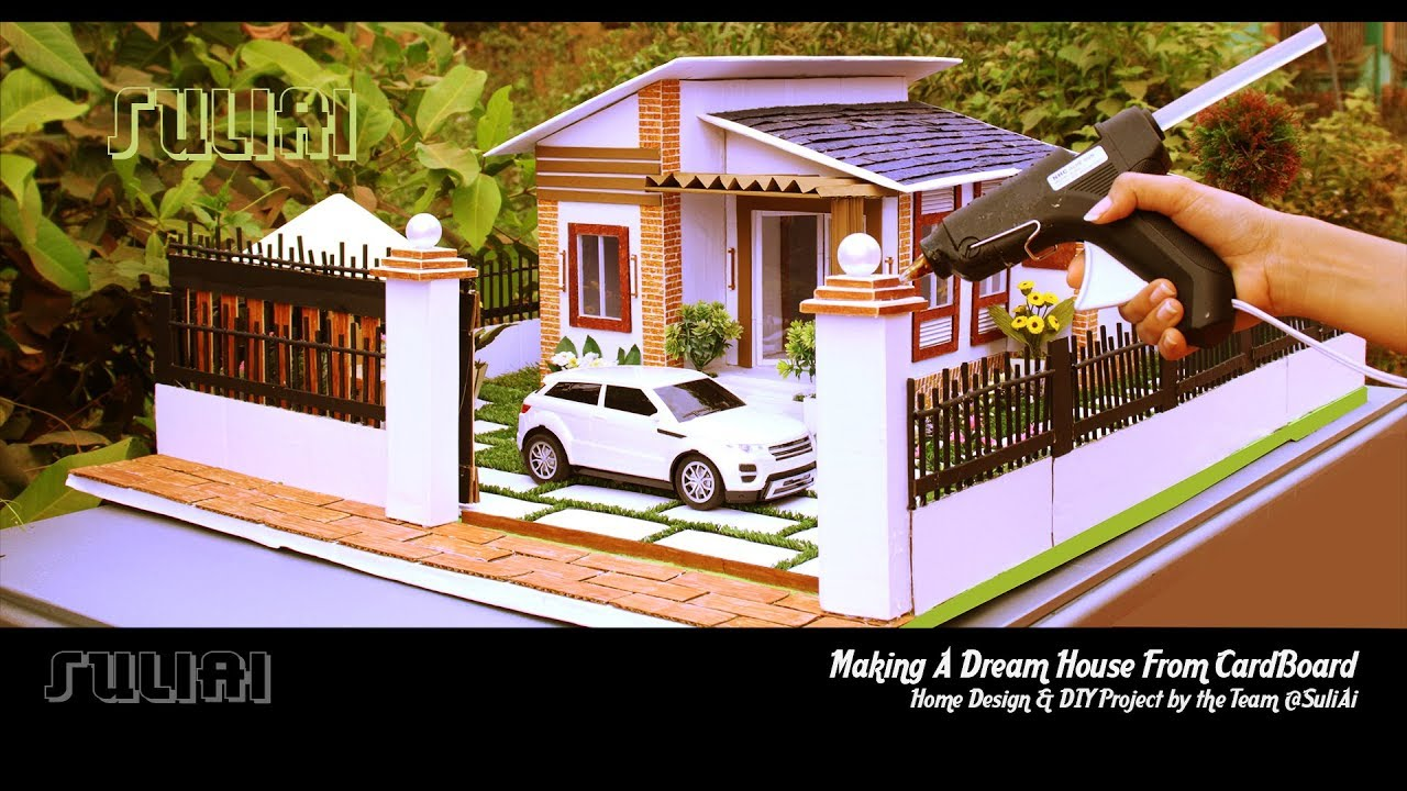 Top 5 Miniature Houses With Diy Design Ideas How To Make
