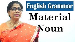 Learn English Grammar for kids | Material Noun | Basic English Grammar