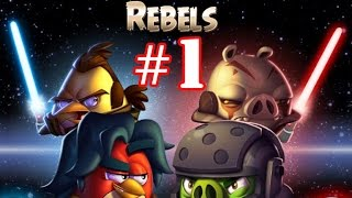 Angry Birds Star Wars 2 Gameplay Part-1  [Rebels] Yoda Side Level 1-12 Plus Boss Fight