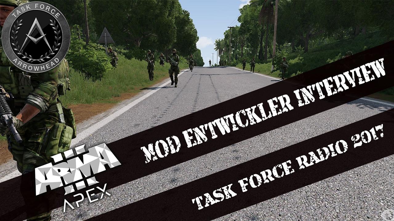 🔴 ► ARMA 3 INTERVIEW 06 🎤 ◄ TASK FORCE RADIO - TFAR | Das  Entwicklerinterview! [GERMAN]