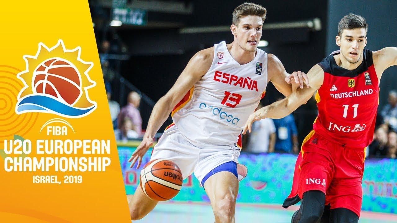 Spain v Germany - Full Game - FIBA U20 European Championship 2019