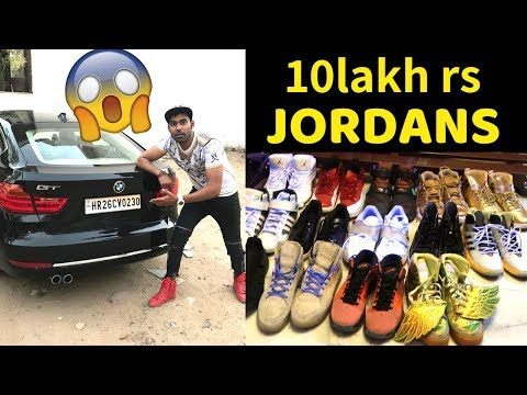 INDIA'S MOST EXPENSIVE SNEAKER COLLECTION