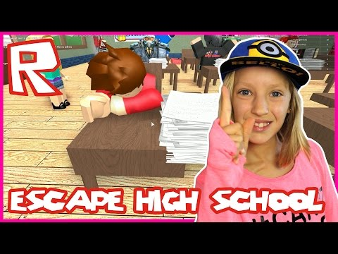 Escape High School Obby / First to Finish / Roblox