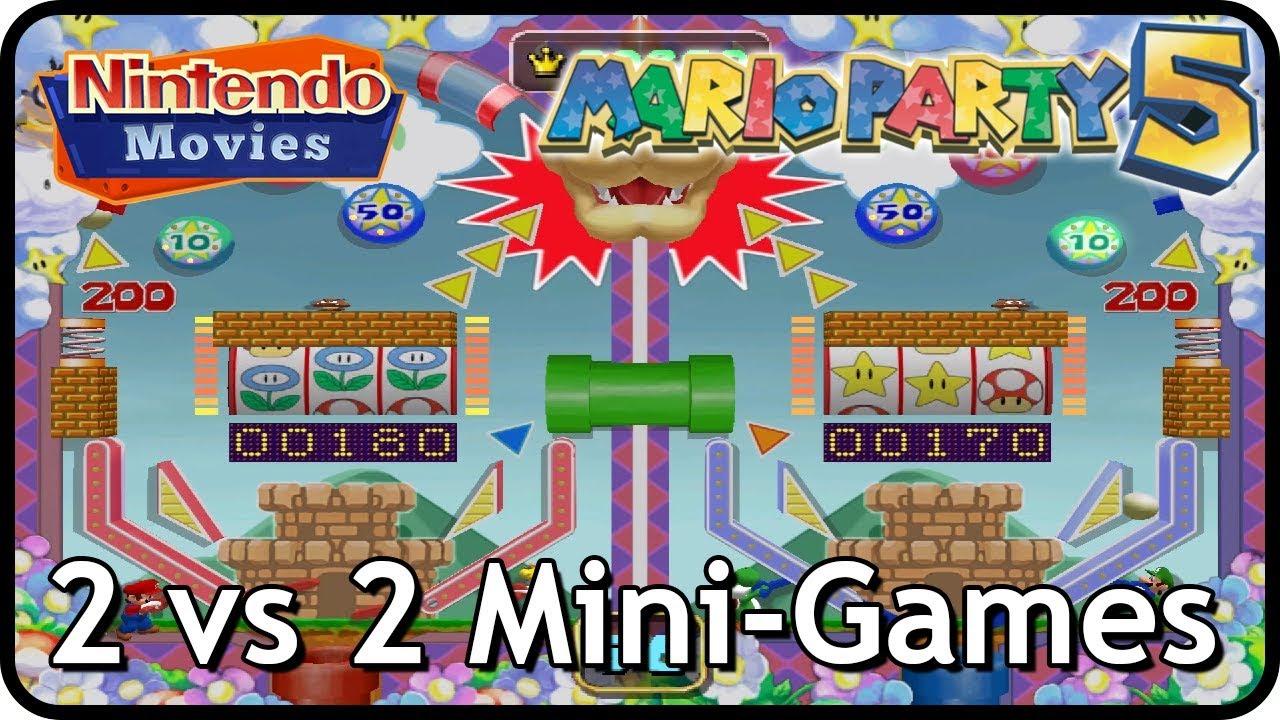 Mario Party 5 - All 2 vs 2 Mini-Games