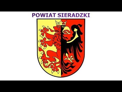 Coats of arms of counties of Łódź Voivodeship - Znaky Lodžského vojvodství
