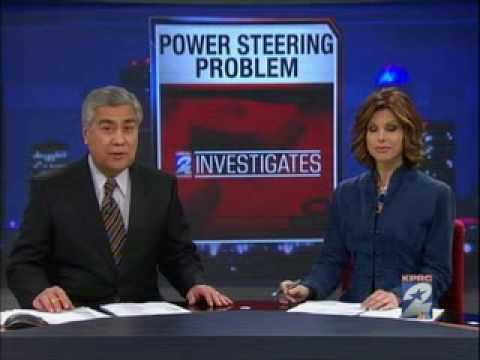 Chevy Cobalt Power Steering Recall Investigative Report on KPRC Channel 2  Houston