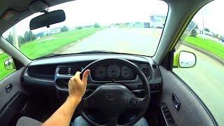 2001 Toyota Duet POV Test Drive