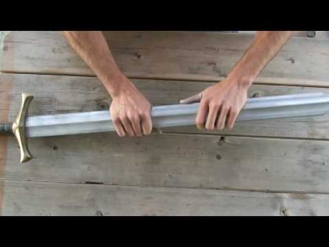 Twisted Calimacil foam sword