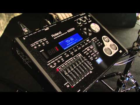 Roland V-Pro Series Drum Overview