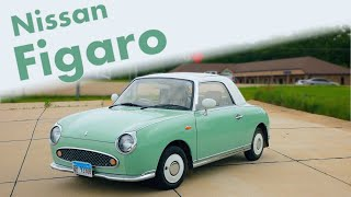 The Nissan Figaro is a Lovely, Retro-Inspired, Convertible From Japan
