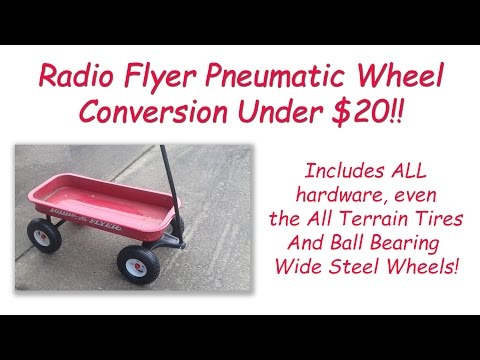 Replacement On A Radio Flyer Wagon