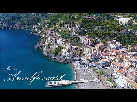 Amalfi coast - Minori - Riprese aeree con il drone
