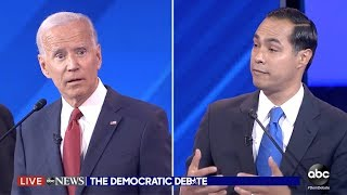 "Julián Castro to Joe Biden: ""Are you forgetting what you said 2 minutes ago?"""