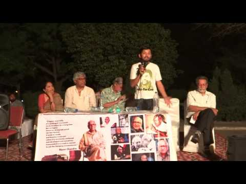 Kanhaiya's Speech at Public Meeting to protest attack on Bipan Chandra and other JNU faculty