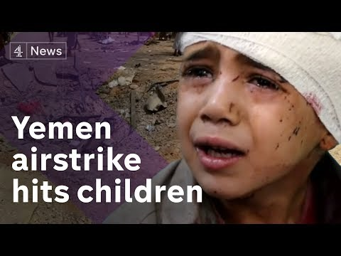 Yemen: Dozens of children killed in airstrike