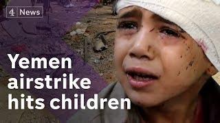 Yemen: Dozens of children killed in airstrike