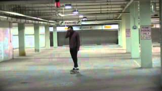Alex Skating Under Des Plaines Library