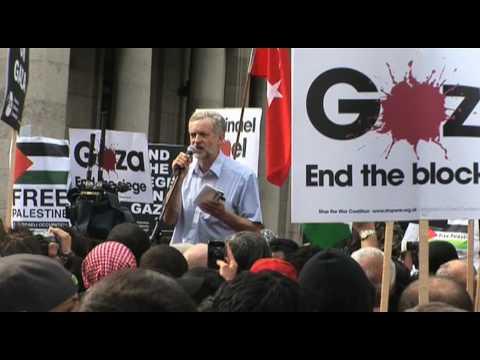 Rage Against Israel, London Demo: Jeremy Corbyn MP