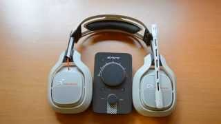ASTRO A40 2nd generation headset & mixamp REVIEW & MIC TEST