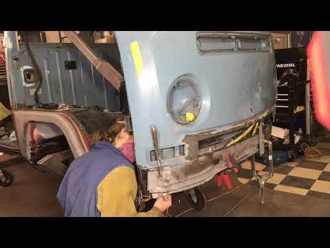 1970 VW BUS RESTORATION Inner Valence, A-pillar, Dog leg