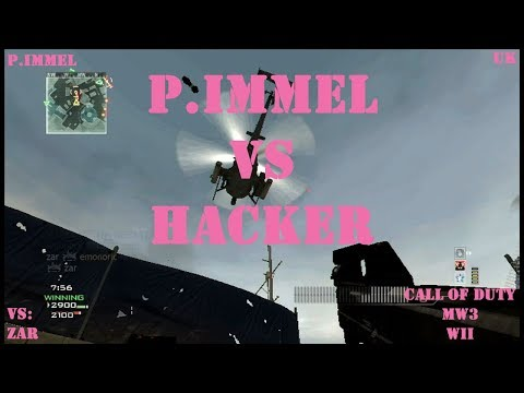 P.Immel vs HACKER - [CoD MW3 Wii] WiiMote GP (UK) #3