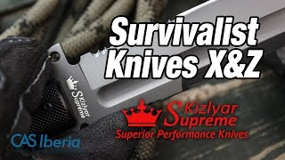 Hollow Handle Survival Knives - Kizlyar Supreme
