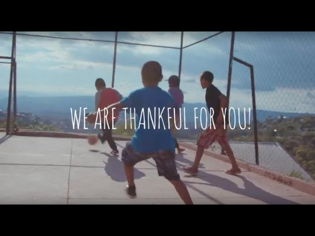 What We Are Thankful For - Compassion International