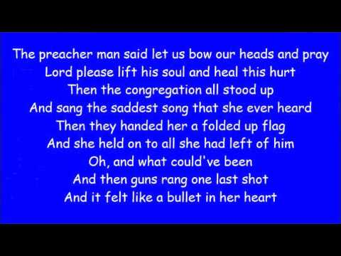 Carrie Underwood ~ Just A Dream (Lyrics)