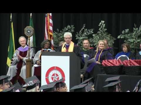 Lee College Fall Commencement 2016