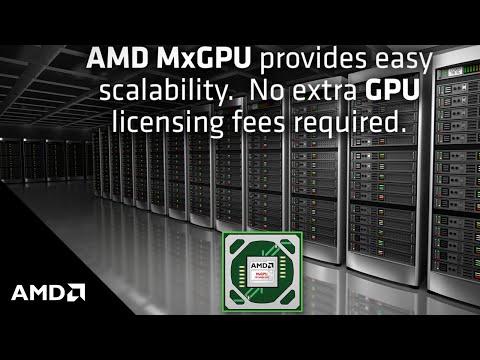 AMD MxGPU – The World's First Hardware Virtualized GPU