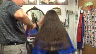 preview clip of Maia's Asymmetrical Bob Haircut video