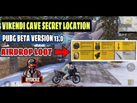 Vikendi Secret Cave 0 13 0 Update Pubg Mobile All Airdrop Loot In Cave Razorxgamer