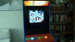 Marble Madness Arcade Introduction and Gameplay