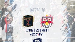 Bethlehem Steel FC vs New York Red Bulls USL full match