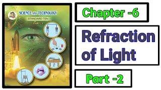 Part-2 Refraction of light science class 10th new syllabus maharashtra board.