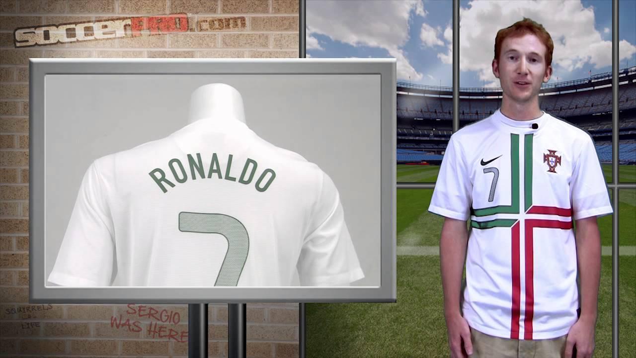 f510b3f2b Nike Portugal Away Jersey Review - Cristiano Ronaldo - YouTube