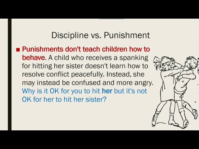 Discipline vs Punishment   Part 5   Improving Parent Child Communication During COVID-19