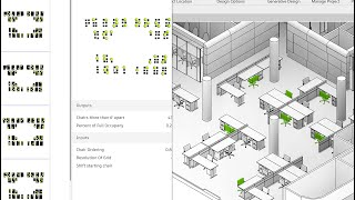 Office workspace activation for low occupancy and social distance