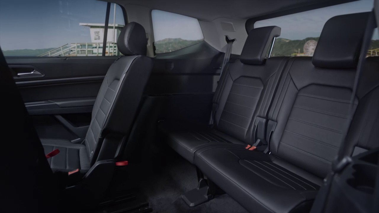 Volkswagen Atlas | Interior Rear Seats - YouTube