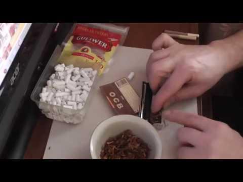 Изготовление папирос , сигарет с фильтром и без фильтра!