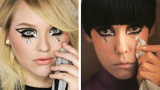 peggy moffitt makeup tutorial  collab with desi perkins
