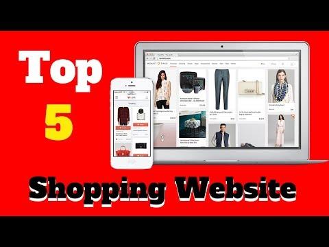 Top 5 Best Online Shopping Websites in the world | Updates