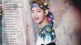 playlist bts 1 hour best songs