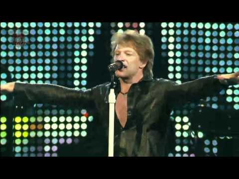 Bon Jovi - You Give Love A Bad Name (Live in Dallas 2010)
