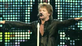 Bon Jovi You Give Love A Bad Name Live in Dallas 2010