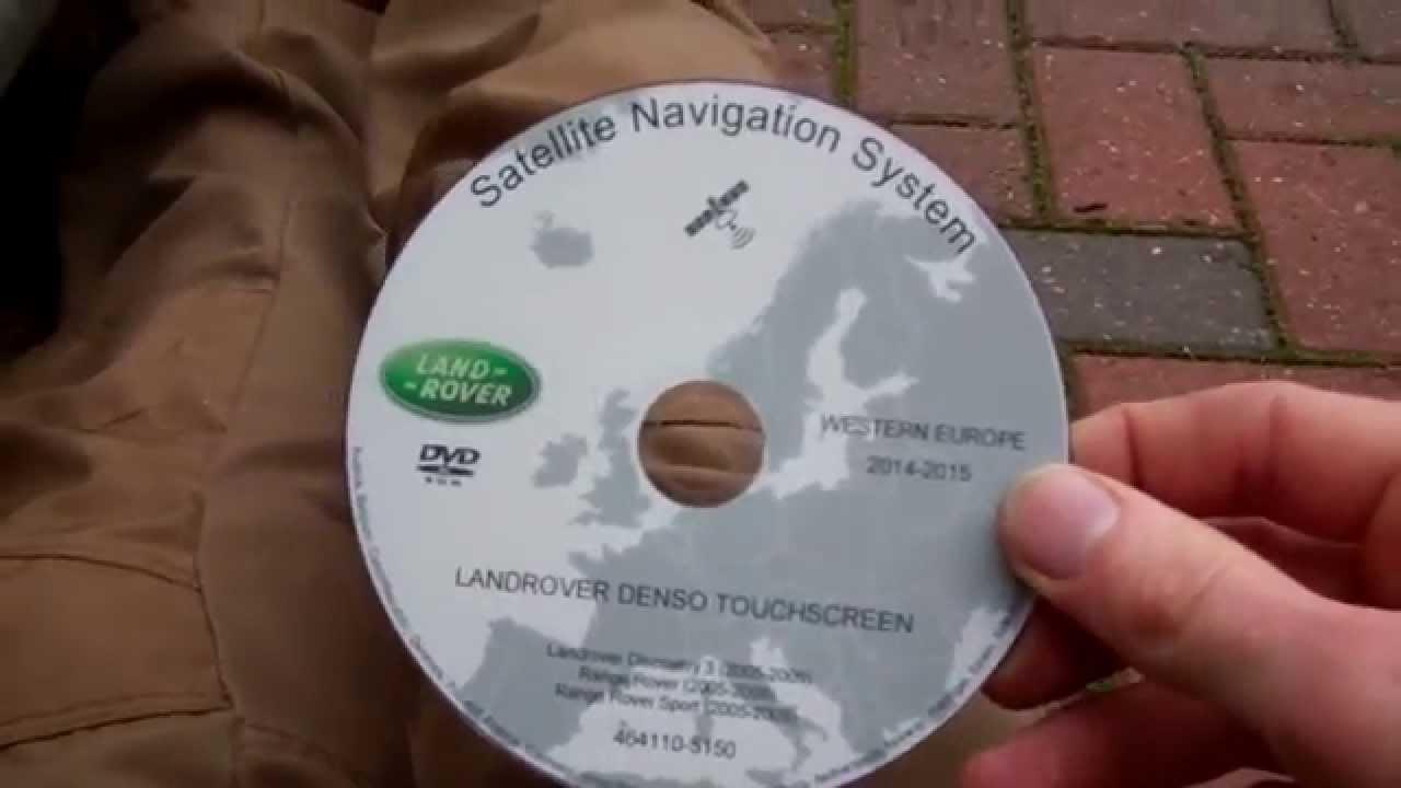 Range Rover Sport SatNav Navigation Software upgrade procedure