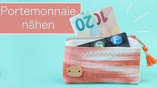 Basic-Nähanleitung: Portemonnaie nähen