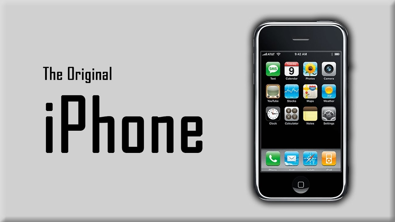 the original iphone changing an industry youtube