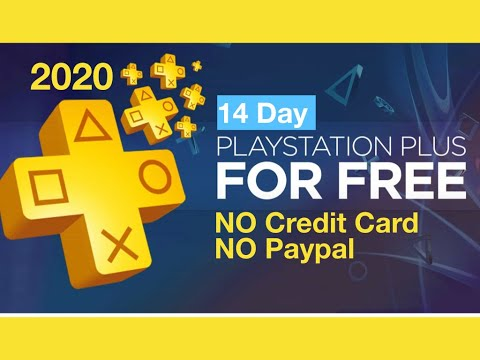 How To Get FREE PS Plus (14 Days Free) Without Credit Card And Without Paypal (2020)