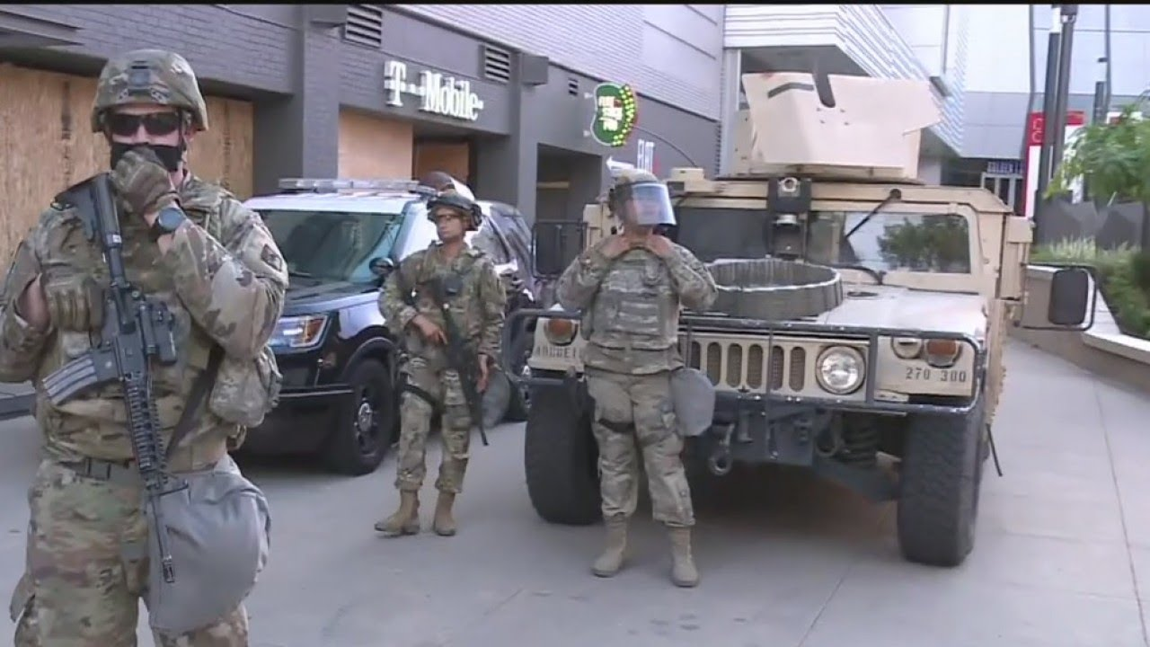 National Guard Deployed In Sacramento; Curfew In Effect At 8 p.m.
